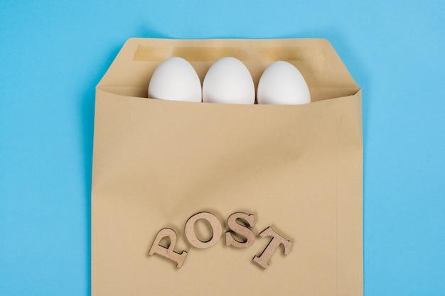 Jajka w kopercie i słowo post