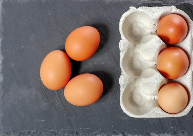 Jajka w panelu jaj