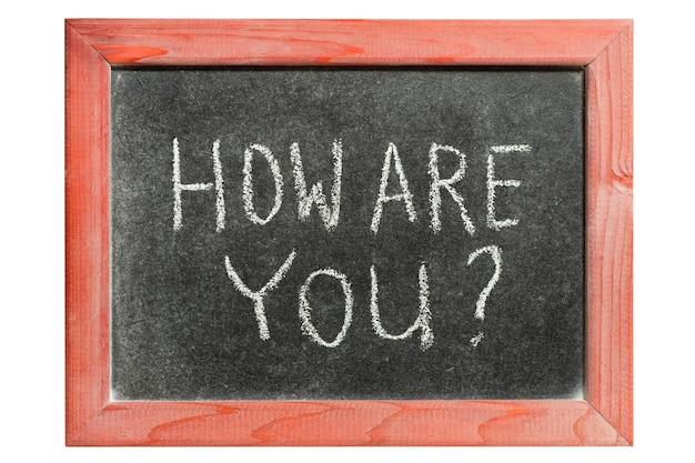 Jak pytasz odręcznie na izolowanej rocznika tablicy?
