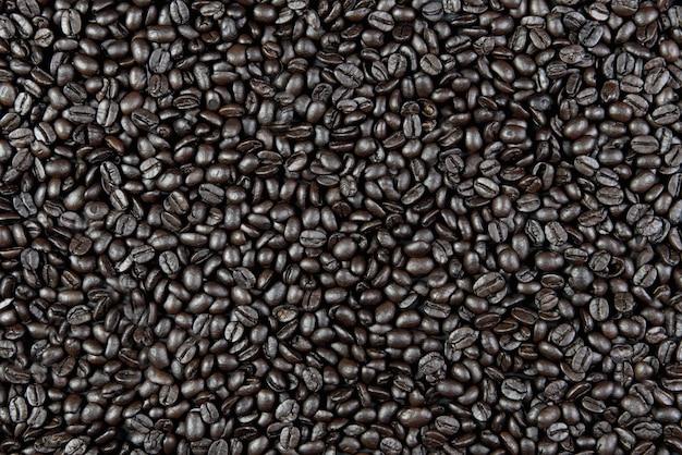 Jako tło mogą służyć palone ziarna kawy