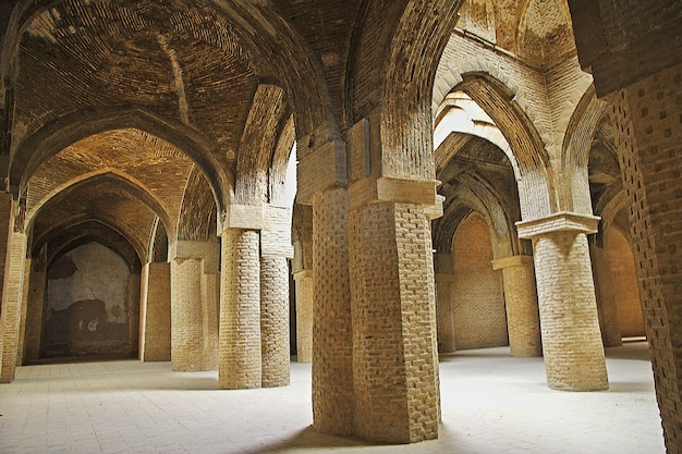 Jameh mosque w isfahanie, iran