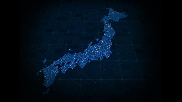 Japonia mapa