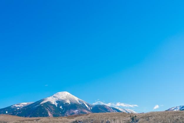 Japonia winter mountain