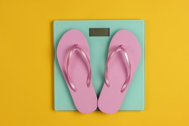 Japonki na wadze jako koncepcja odchudzania