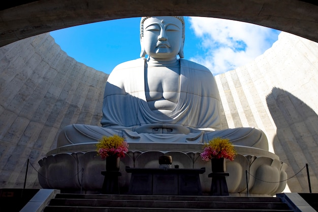 Japońska buddyjska statua buddha