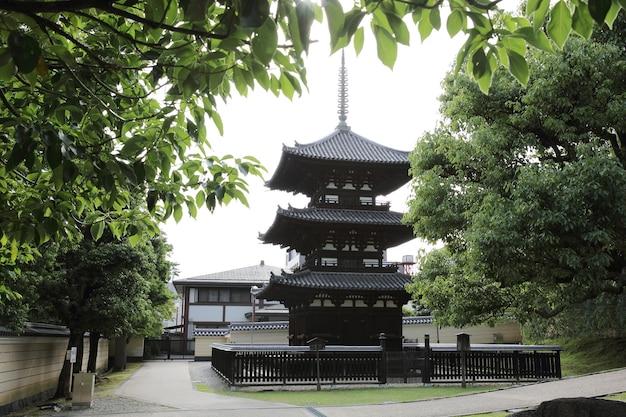 Japońska świątynia w mieście nara