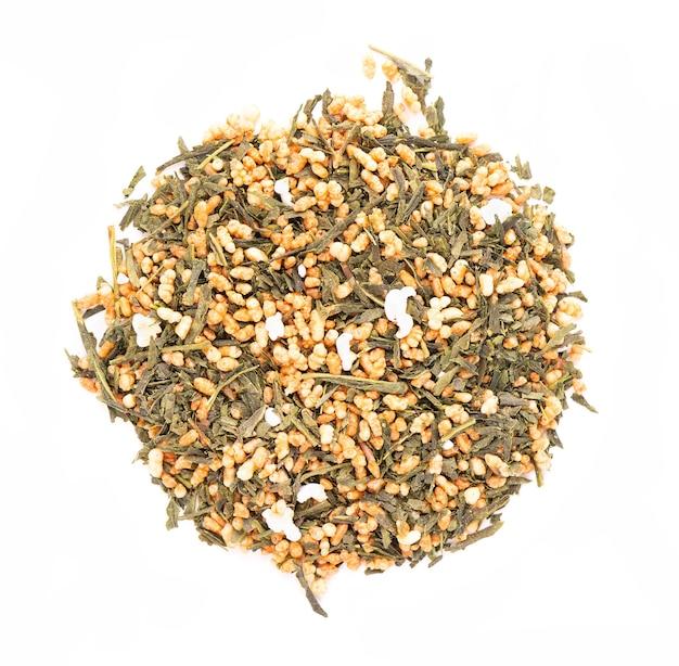 Japońska zielona herbata genmaicha