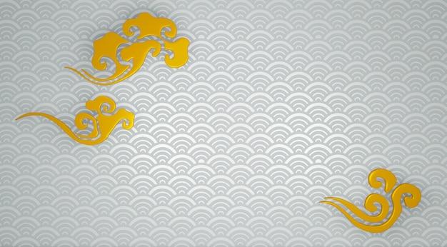 Japoński biały tło podłoga i ściany tło.