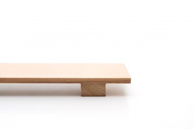 Japoński drewniany talerz sushi