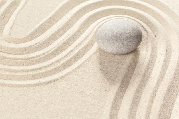 Japoński kamień ogrodowy zen
