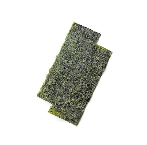 Japońskie jedzenie wodorosty nori lub wodorosty jadalne