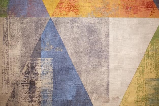 Jaskrawy abstrakcjonistyczny tło. kolorowe tło na pulpicie