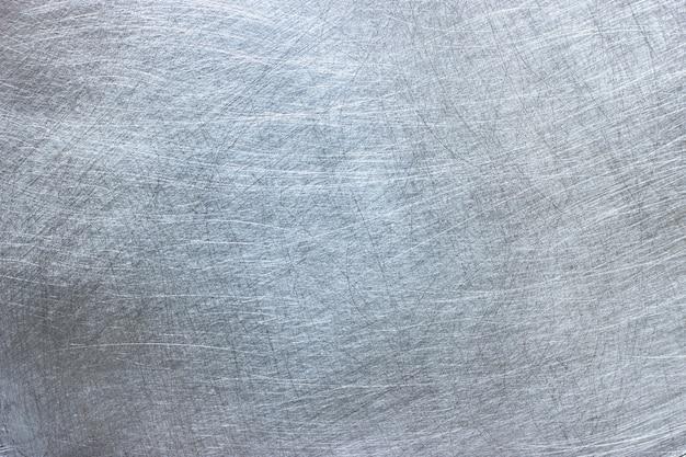 Jasna metaliczna faktura, naturalny wzór na powierzchni blachy aluminiowej