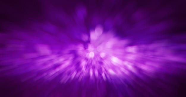 Jasne fioletowe niewyraźne światła. streszczenie tło zamazane pole.