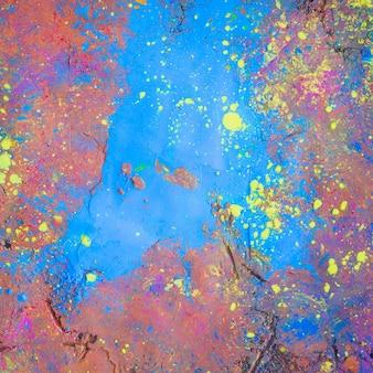 Jasne malowane tło powierzchni