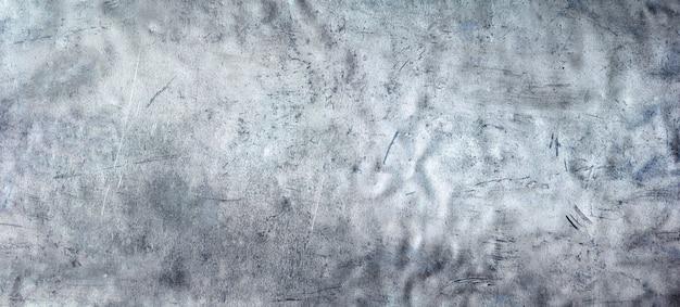 Jasne metalowe tekstury, panoramiczne tło ze stali nierdzewnej