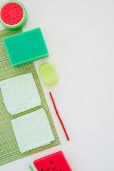 Jasne produkty do higieny osobistej