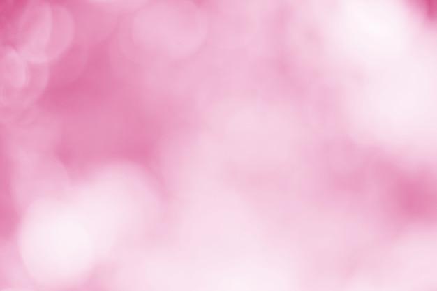 Jasne różowe i białe musujące tło bokeh z rozmyciem