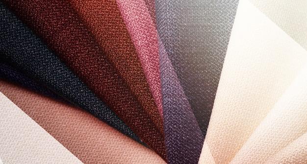 Jasne streszczenie tło graficzne z próbek tekstylnych gunny