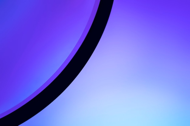 Jasne tło z lampą do projektora o zachodzie słońca