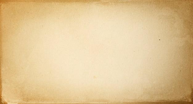 Jasnobrązowe tło vintage, tekstura starego papieru retro z miejscem na kopię i miejscem na tekst