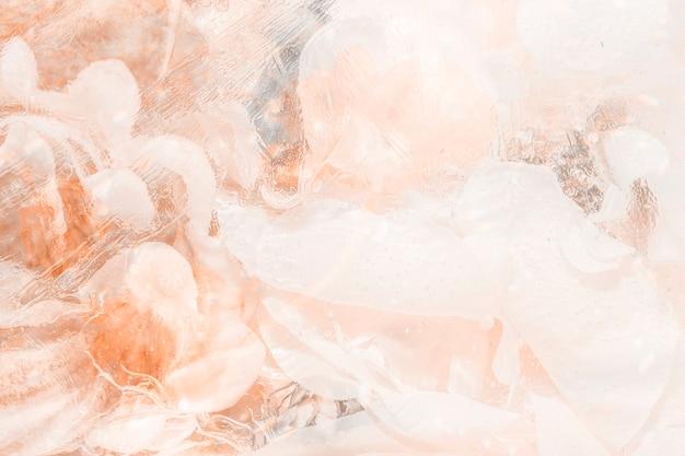 Jasnopomarańczowe abstrakcyjne zadymione tło