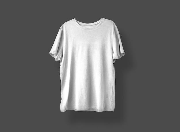 Jasnoszara koszulka z przodu