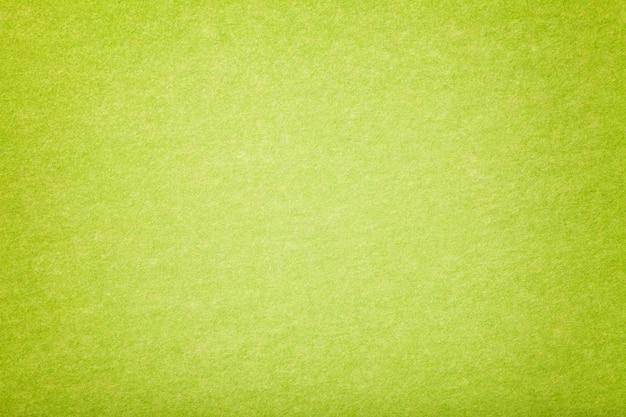 Jasnozielona, zamszowa tkanina aksamitna faktura filcu,