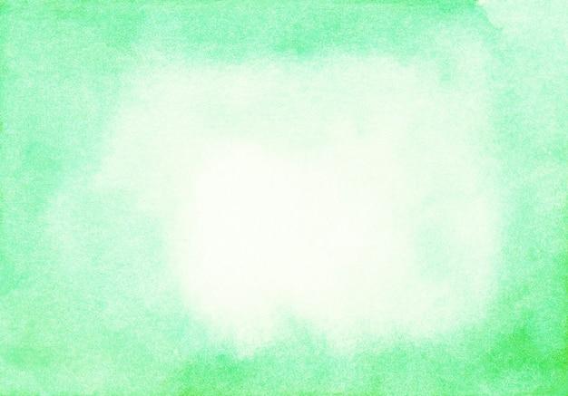 Jasnozielone tło powierzchni akwarela