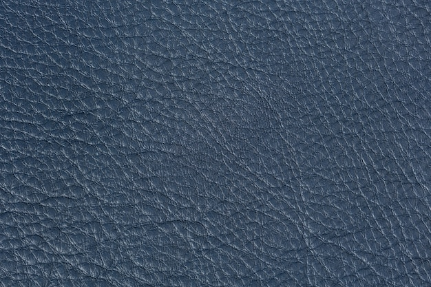 Jasny ciemny niebieski learher tekstury. zdjęcie w wysokiej rozdzielczości.