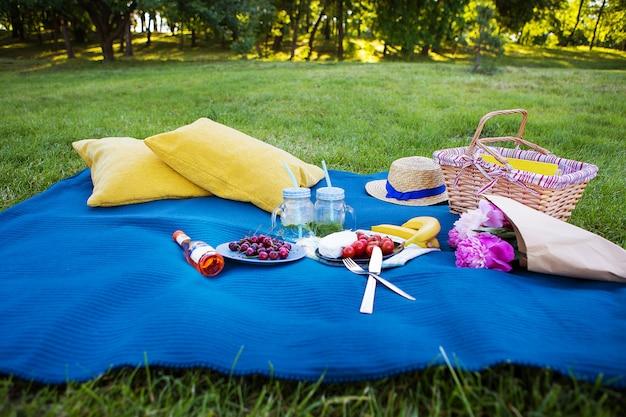 Jasny letni piknik