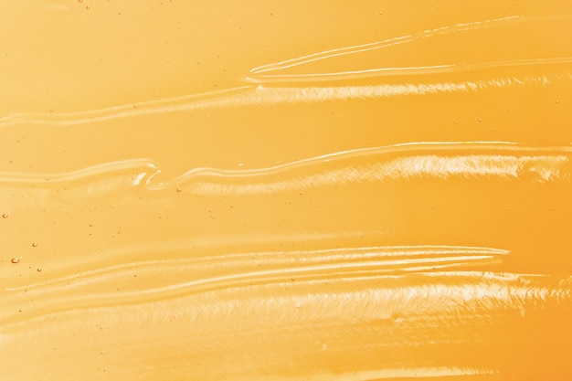 Jasny pomarańczowy żel kosmetyczny