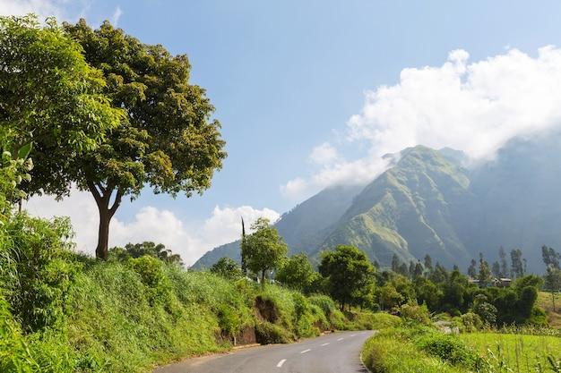 Jawajskie krajobrazy