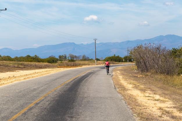 Jazda na rowerze na kubie