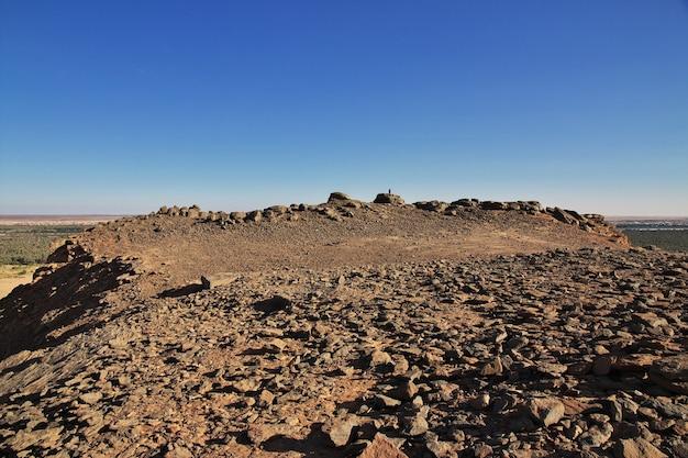 Jebel barkal to święta góra w sudanie
