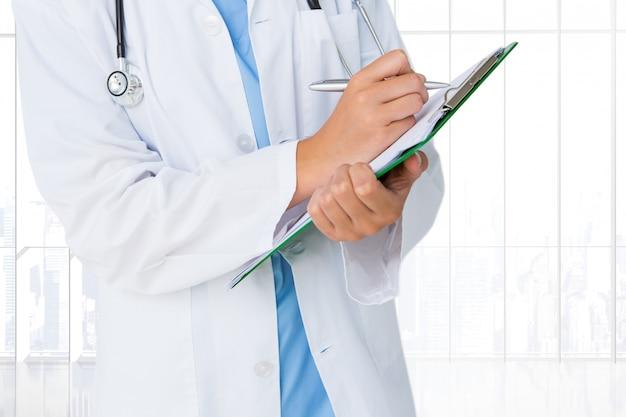 Jednolite lekarz pisania pracy pejzaż