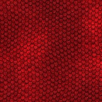 Jednolite wzór skali smoka