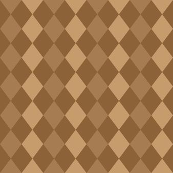 Jednolity wzór brązowych rombów