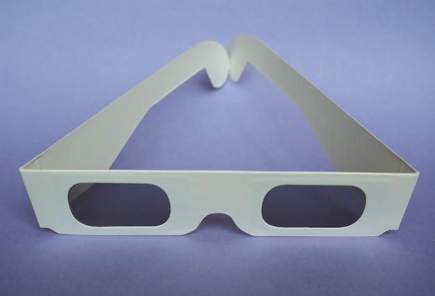 Jednorazowe okulary 3d do filmów