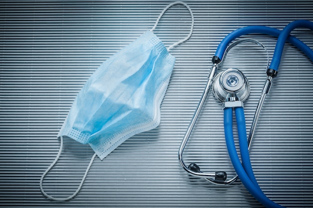 Jednorazowy stetoskop do maski na twarz w paski