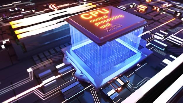Jednostka centralnapraca technologia przetwarzaniatechnologia komputerowacpu na płytce drukowanej
