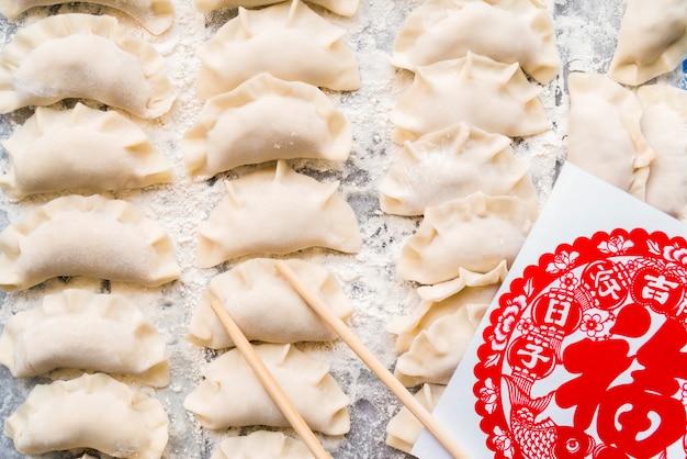 Jedzenie dla chińskiego nowego roku