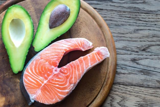 Jedzenie ze zdrowymi tłuszczami