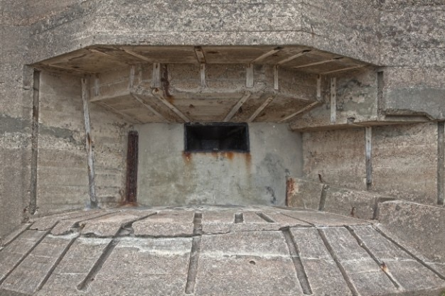 Jersey wojny bunkier hdr