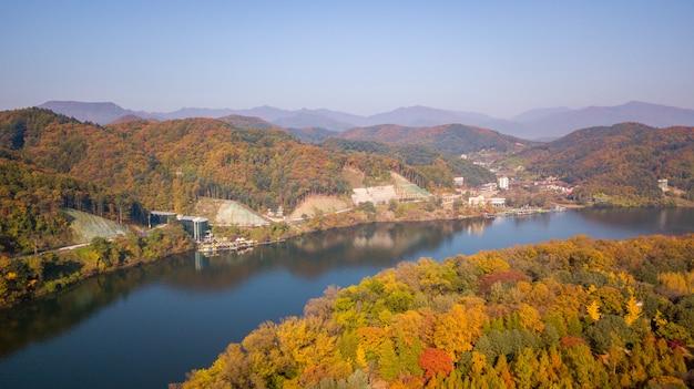 Jesień w korei południowej