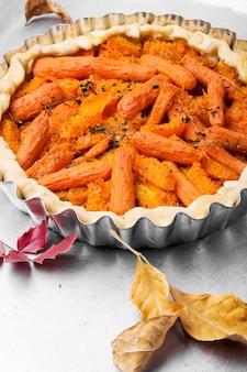 Jesienna dieta wegańskie ciasto