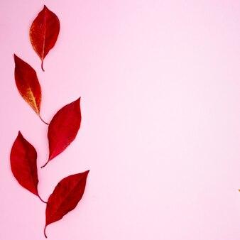 Jesienna kompozycja, miejsce na napis