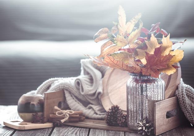 Jesienna kompozycja we wnętrzu
