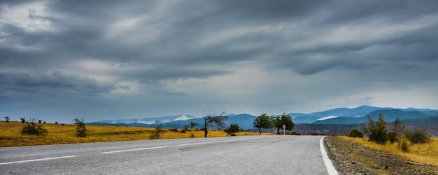 Jesienny krajobraz regionu kakheti