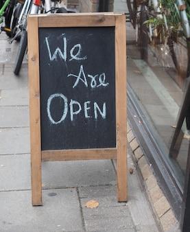 Jesteśmy otwartym znakiem